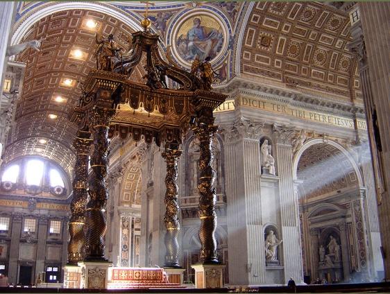 Baldacchino-di-San-Pietro