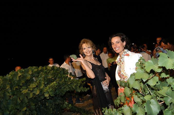 Claudia Cardinale and José Rallo
