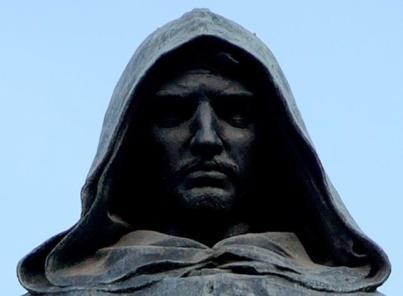 Giordano Bruno Statua a Campo de' Fiori.