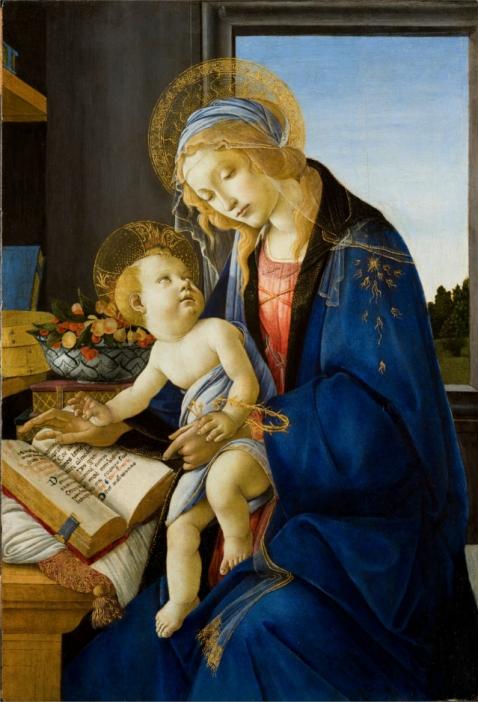 Madonna-del-Libro-Sandro-Botticelli-analisi