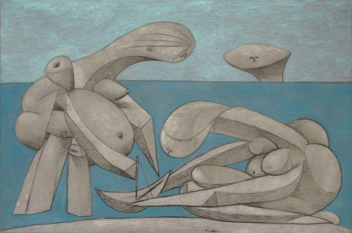 Sulla-spiaggia-La-Baignade12-febbraio-1937.-Collezione-Peggy-Guggenheim-Venezia.©-Succession-Picasso-by-SIAE-2017-1200x794-696x461