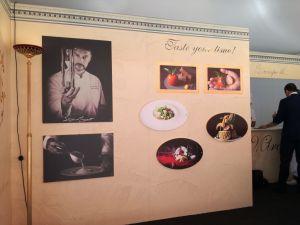Stand dello Chef Stefano Mazzati