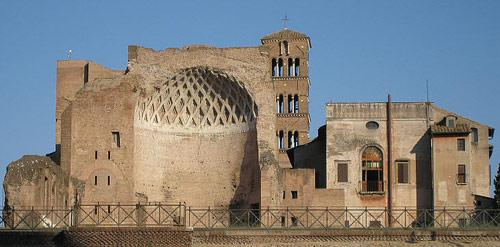 Il tempio di Venere e Roma al Palatino